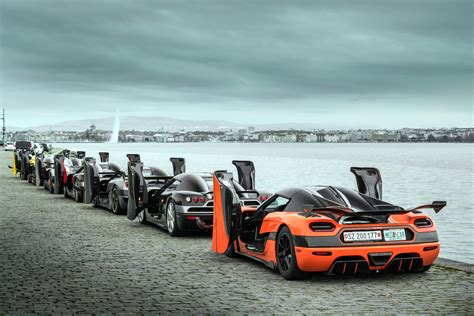 koenigsegg snow review and gallery koenigsegg owners tour of geneva