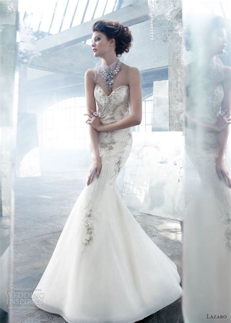 Lazaro Wedding Gowns 2013 by Breathtaking Lazaro 2013 Bridal Collection