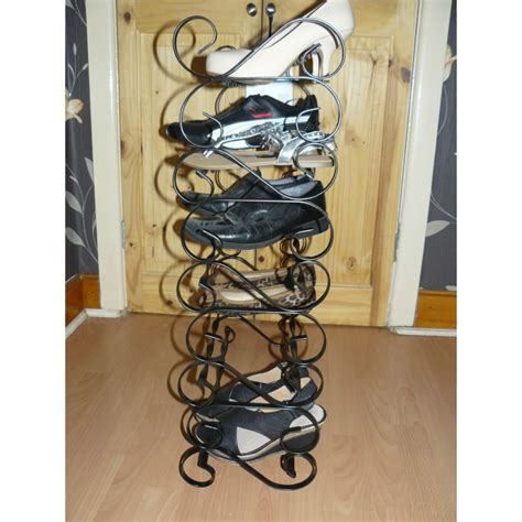 Handmade Shoe Rack - shoe rack wrought iron