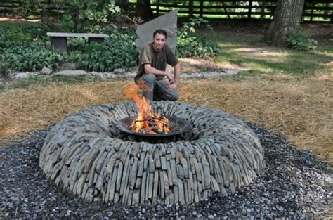 Ambler Fire And Patio Such A Cool Looking Fire Pit Backyard Fire Pits Pinterest