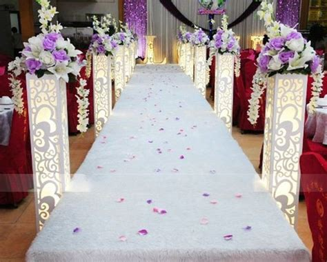 cheap lighted columns  weddings wholesale