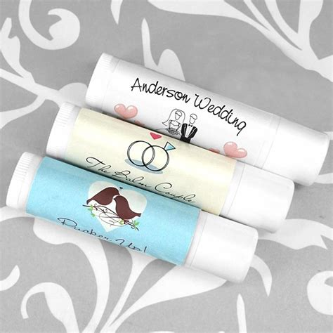 wedding favors lip balm lip balm wedding favors personalized lip balm bridal