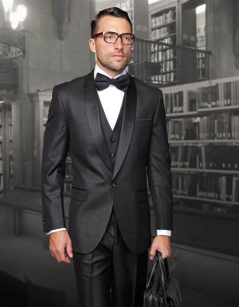 2016 New Arrival Black Mens Suit for wedding Jacket Pants