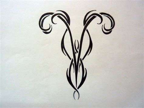 aries tribal symbol tattoo best 25 aries zodiac tattoos ideas on