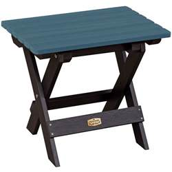 Foldable Patio Table Folding Side Table In Patio Side Tables