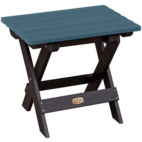 Patio Folding Table Folding Side Table In Patio Side Tables