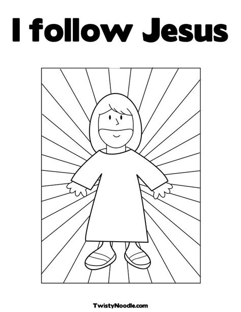 coloring page follow jesus how do i follow jesus colouring pages religion class