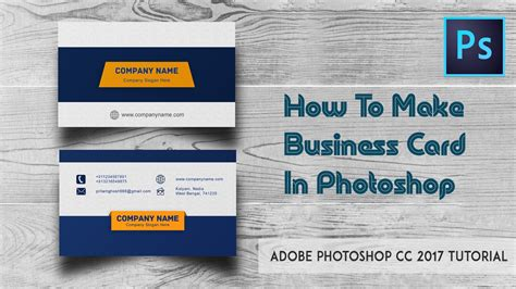 how to make business cards in photoshop how to make business cards in photoshop image collections