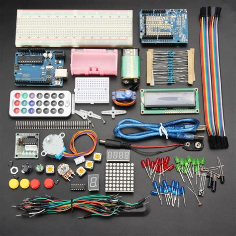 Learn Electronics With Arduino An Illustrated Beginner S Ebook uno basic starter learning kit upgrade version for arduino alex nld