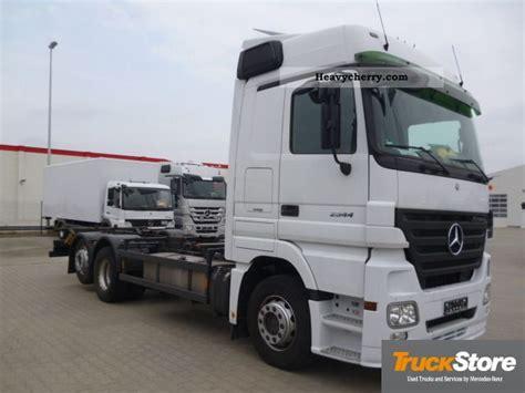 mega truck chassis mercedes benz euro 5 actros 2544 ll bdf air mega 2008 swap