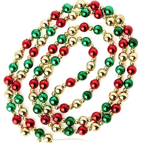 mini beaded christmas tree garland christmas garlands