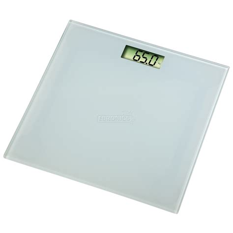 White Bathroom Scales by Digital Bathroom Scale Melina Xavax White 00113958