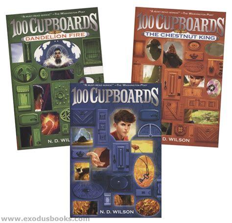 100 Cupboards Series - 100 cupboards paperback trilogy exodus books