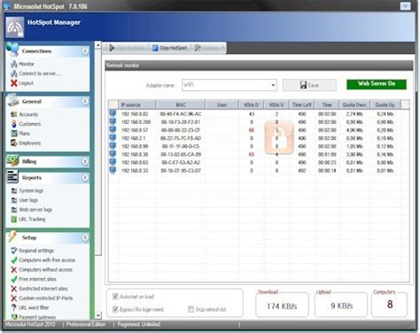 Swing Freiburg Software by Hotspot Software Wifi Billing System By