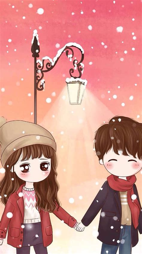 love  wallpaper  home screens anime love couple