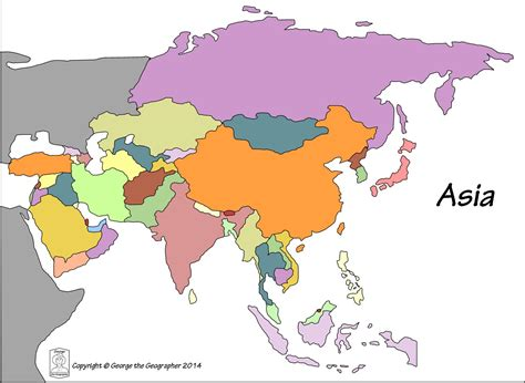 asia map with names asia map no names asia map with names travel