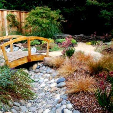 river rock gardens river rock garden ideas with bridge landscaping