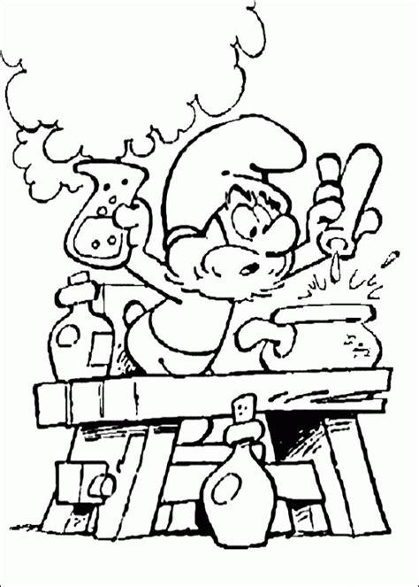 smurf coloring pages gratis smurfen kleurplaten voor kinderen 3
