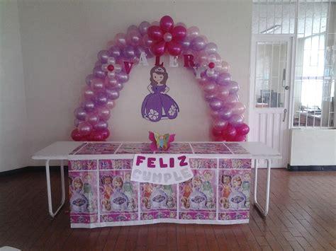 cumplea 241 os decorado de princesa sof 237 a tips de madre decoracion de sofia the princesita sofia decoraci 243 n