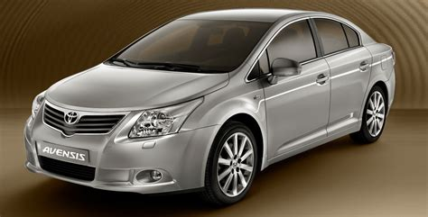 world auto toyota first official images of new 2009 toyota avensis it s