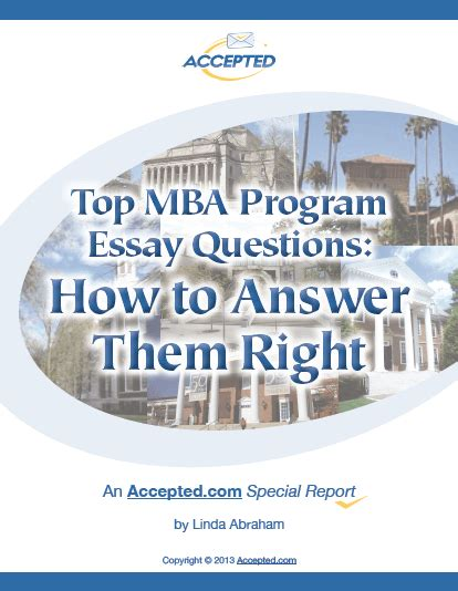 Ross Mba Questions by Need School Specific Mba Application Essay Tips