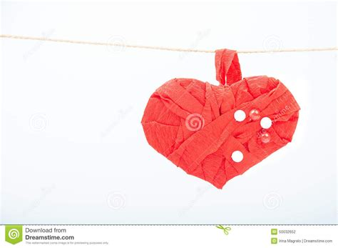 Handcrafted Hearts - handmade stock photo image 50032652