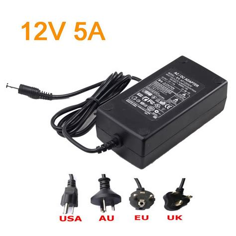 Power Supply Led 12v 5a 3528 5050 2835 5630 led power supply 12v 5a led