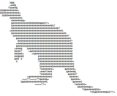 how to create an angel graphic using keyboard letters ehow ascii art generator