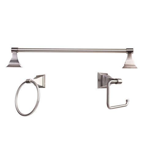 bathroom accessory kit arista leonard collection 3 bathroom accessory kit