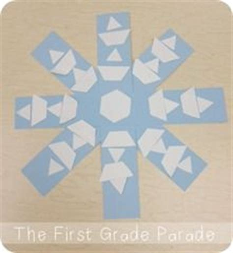 snowflake pattern block templates easy snowflakes from paper scraps from the first grade