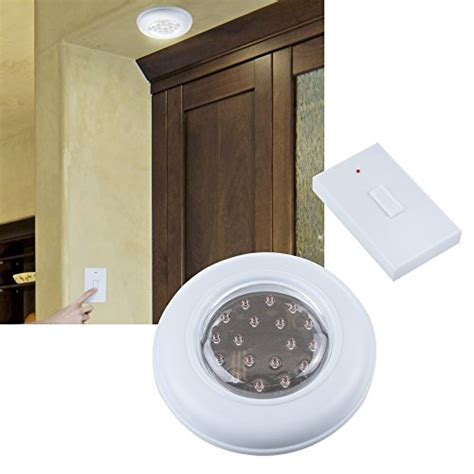Battery Operated Ceiling Light With Remote Tools Jb5571 Battery Operated Ceiling Wall Light With Remote New Ebay