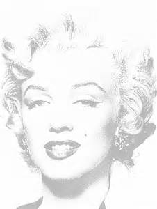 marilyn coloring pages free coloring pages of andy warhol color for