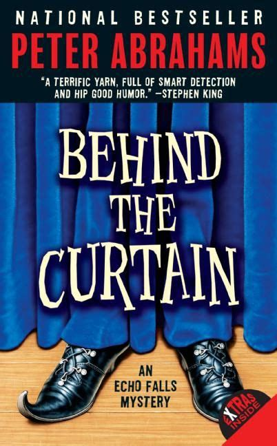volumes behind the curtain behind the curtain peter abrahams e book