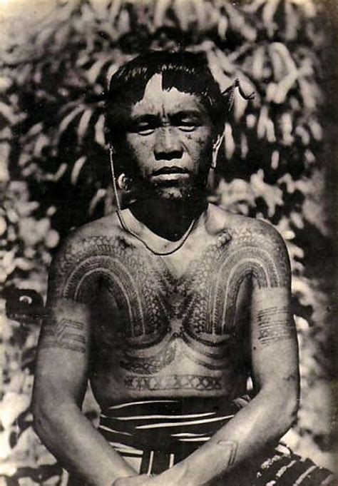 tribal tattoo kalinga philippines tattooed kalinga vintage photographic