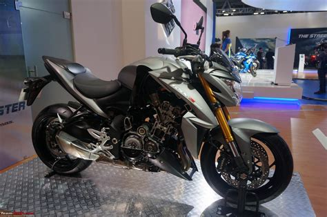 Suzuki Automatic Motorcycle Suzuki Motorcycles Auto Expo 2016 Team Bhp