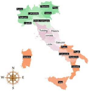 regional cuisines of italy northern central and southern