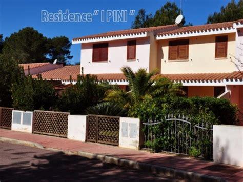residence porto pino porto pino affitto vacanze residence e appartamenti