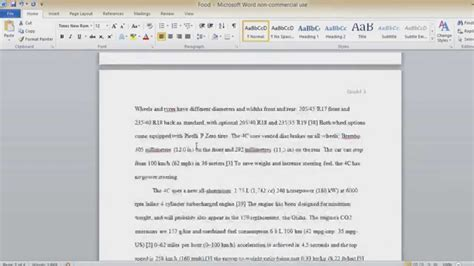 how to write a paper essay or make it longer in word