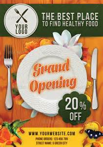 restaurant flyer graphicriver