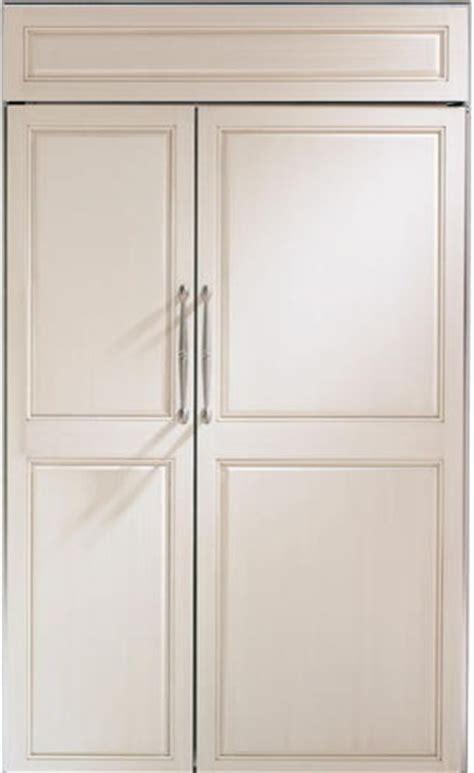 48 inch ge monogram refrigerator ge monogram 48 inches built in side by side refrigerator