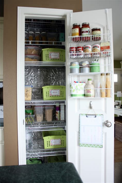 Kitchen Closet Organization Ideas | home kitchen pantry organization ideas mirabelle