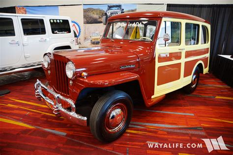 2016 Sema Omix Ada Willys Jeep Station Wagon
