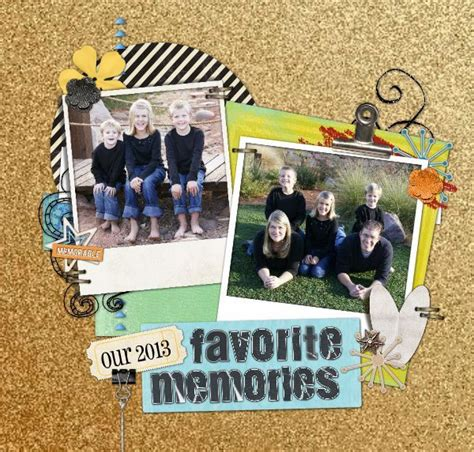 scrapbook yearbook layout 256 best family scrapbooking images on pinterest