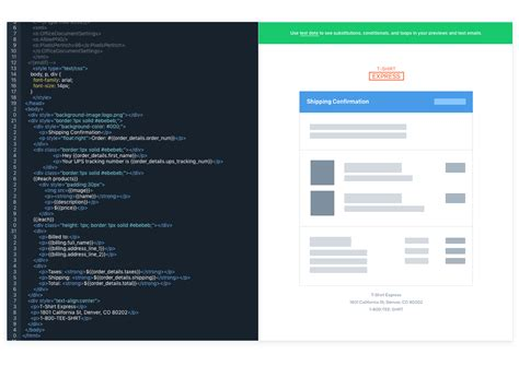 Transactional Email Templates Simple Html Editing Sendgrid Sendgrid Transactional Email Templates