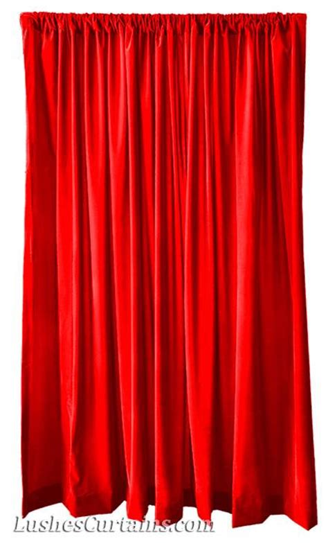 Velvet Stage Curtains Custom Size Home Theater Stage Drapes Velvet 108 Quot H Curtain Panel Ebay