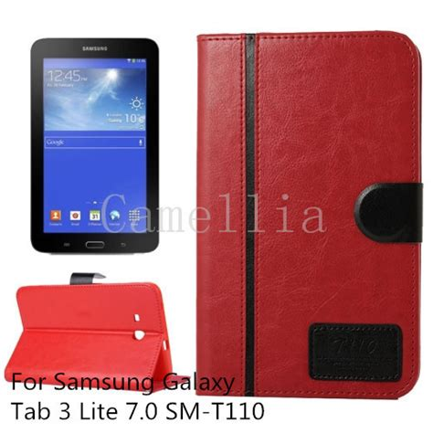 Tablet Samsung Galaxy Tab 3 Lite Sm T111 for samsung galaxy tab 3 lite 7 0 high quality luxurycase