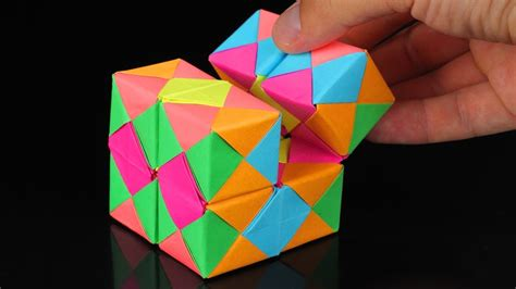 where can you get origami paper how to make a paper infinity cube