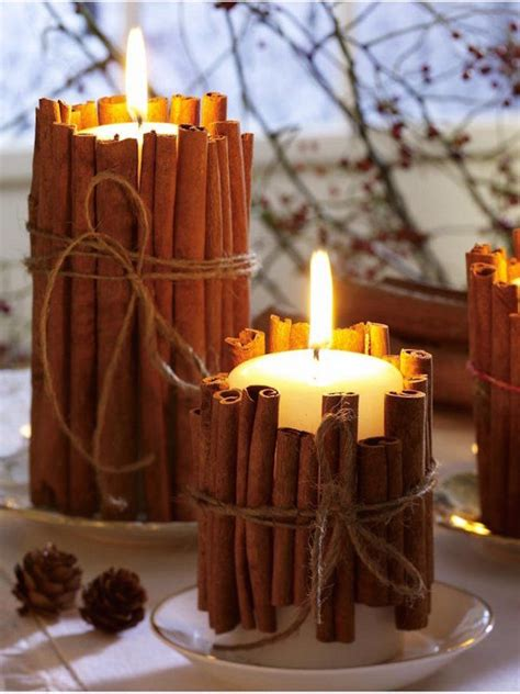 easy diy holiday candle holders