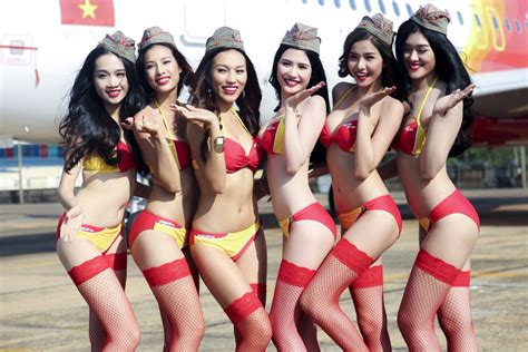 Leaked Photos From Racy VietJet Photo Shoot Cause Online Firestorm · OneVietnam