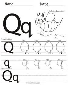 8 best images of printable worksheets q letter q